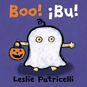 Boo!  Bu! Spanish Dual Language (Leslie Patricelli Board Books) - Leslie Patricelli - Candlewick