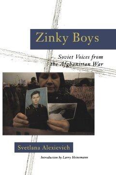 portada Zinky Boys: Soviet Voices From the Afghanistan war (libro en Inglés)