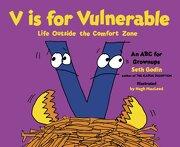V is for Vulnerable: Life Outside the Comfort Zone (libro en Inglés) - Seth Godin - Portfolio