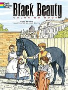 Black Beauty Coloring Book - Sewell, Anna; Sewell; Green, John - Dover Publications