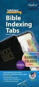 catholic old and new testament bible tabs [with booklet] - tabbies - tabbies