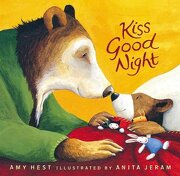 Kiss Good Night Lap-Size Board Book (Sam Books) (libro en Inglés) - Amy Hest - Candlewick Books