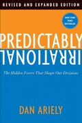 predictably irrational,the hidden forces that shape our decisions - dan ariely - harpercollins
