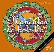 MANDALAS DE BOLSILLO 11 NARANJA C/STICKERS