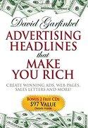 advertising headlines that make you rich - david garfinkel - ingram pub services