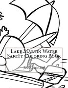 Lake Martin Water Safety Coloring Book