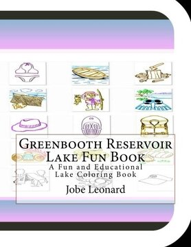portada Greenbooth Reservoir Lake Fun Book: A Fun and Educational Lake Coloring Book
