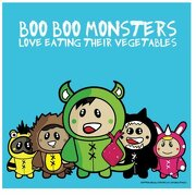 Boo Boo Monsters: Love Eating Their Vegetables