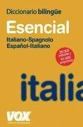 diccionario esencial español / italiano -  - vox