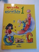 Aprende a Escribir 1 (Preescolar) - Ediciones Mestas - MESTAS, Ediciones Escolares, S.L.