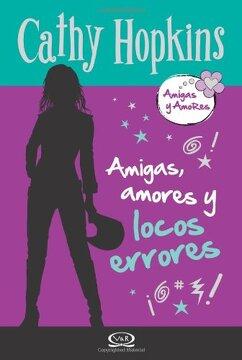 portada Amigas Amores y Locos Errores (libro en Inglés)