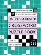 simon and schuster crossword puzzle book -  - simon & schuster