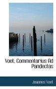 voet, commentarius ad pandectas - joannes voet - bibliobazaar