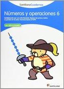 NUMEROS Y OPERACIONES 6 SANTILLANA CUADERNOS - Vv.Aa. - Santillana