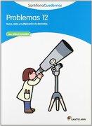 PROBLEMAS 12 SANTILLANA CUADERNOS - Vv.Aa. - Santillana
