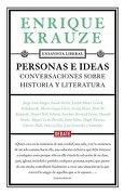 PERSONAS E IDEAS: CONVERSACIONES SOBRE HISTORIA Y LITERATURA (En papel)