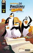 pinguinos de madagascar.(comic 3) - varios autores - everest