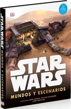 portada Star Wars Mundos y Escenarios (Dk) (Td)