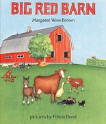 big red barn - margaret wise brown - harpercollins childrens books