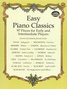 easy piano classics,97 pieces for early and intermediate players - ronald herder - dover pubns