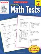 scholastic success with math tests, grade 4 - scholastic inc. (cor) - scholastic