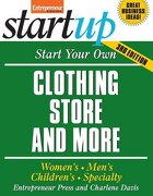 start your own clothing store and more,children´s, bridal, vintage, consignment - charlene davis - mc graw-hill