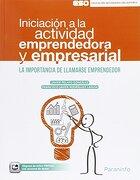 Iniciación A La Actividad Emprendedora Y Empresarial - Vv.Aa. - Paraninfo