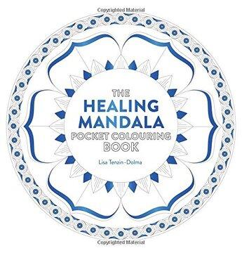 portada Healing Mandala Pocket Colouring Book (Colouring Books)