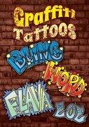 Graffiti Tattoos (Dover Publications Inc)