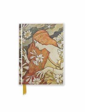 portada Paul Berthon: L'ermitage (Foiled Pocket Journal) (Flame Tree Pocket Books) (libro en Inglés)