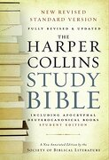 the harpercollins study bible,new revised standard version, with the apocryphal/deuterocanonical books - harold w. (edt) attridge - harpercollins
