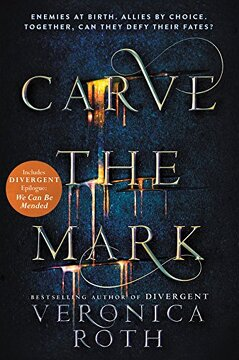 portada Carve the Mark (libro en Inglés)