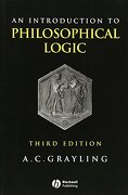 an introduction to philosophical logic - a. c. grayling - blackwell pub