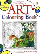 Art Colouring Book - Dickins, Rosie - Usborne Books
