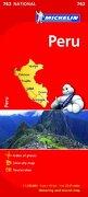 Peru - Michelin National map 763 (Michelin National Maps) (libro en Inglés) - Michelin - Michelin Editions Des Voyages