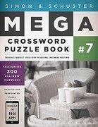 simon & schuster mega crossword puzzle book - john m. samson - simon & schuster