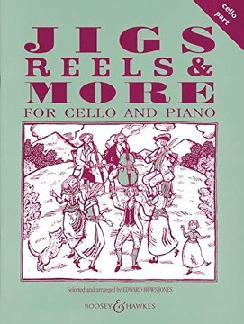 portada Jigs, Reels and More for Cello: Cello Part