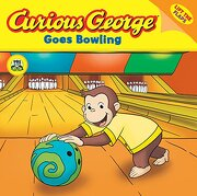 curious george goes bowling - h. a. rey - houghton mifflin harcourt