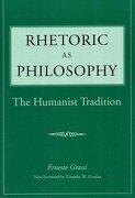 rhetoric as philosophy,the humanistic tradition - ernesto grassi - southern illinois univ pr
