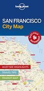 Lonely Planet San Francisco City Map (Travel Guide)