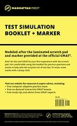 manhattan gmat test simulation booklet - manhattan gmat prep - midpoint trade books inc