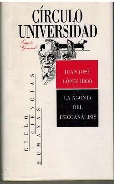 portada LA AGONIA DEL PSICOANALISIS
