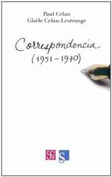 portada Correspondencia Paul Celan | Gisèle Celan-Lestrange (1951 - 1970)