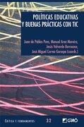 Políticas educativas y buenas prácticas con TIC: 032 (Critica Y Fundamentos) - Manuel Area Moreira - EDITORIAL GRAO
