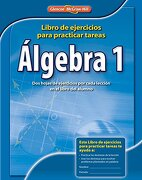 algebra 1: libro de ejercicios para practicar tests - glencoe mcgraw-hill - mc graw-hill