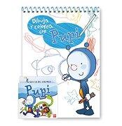 Dibuja y colorea con Pupi - Ediciones SM - SM