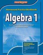 Algebra 1 Homework Practice Workbook, Ccss - McGraw-Hill Glencoe - McGraw-Hill/Glencoe