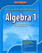 algebra 1,homework practice workbook - glencoe mcgraw-hill (cor) - mc graw-hill