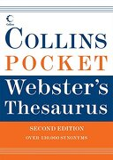 collins pocket webster´s thesaurus - harpercollins - harpercollins