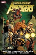 the new avengers - brian michael bendis,stuart immonen,daniel acuna - marvel comics